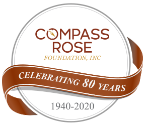 Compass Rose 80 Years Logo