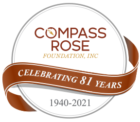 Compass Rose 81 Years Logo